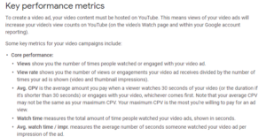 ad metrics