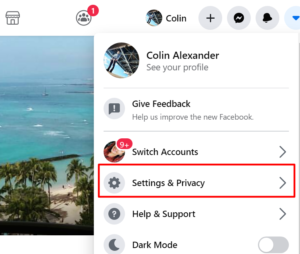 setting for facebook privacy