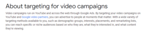 video targeting